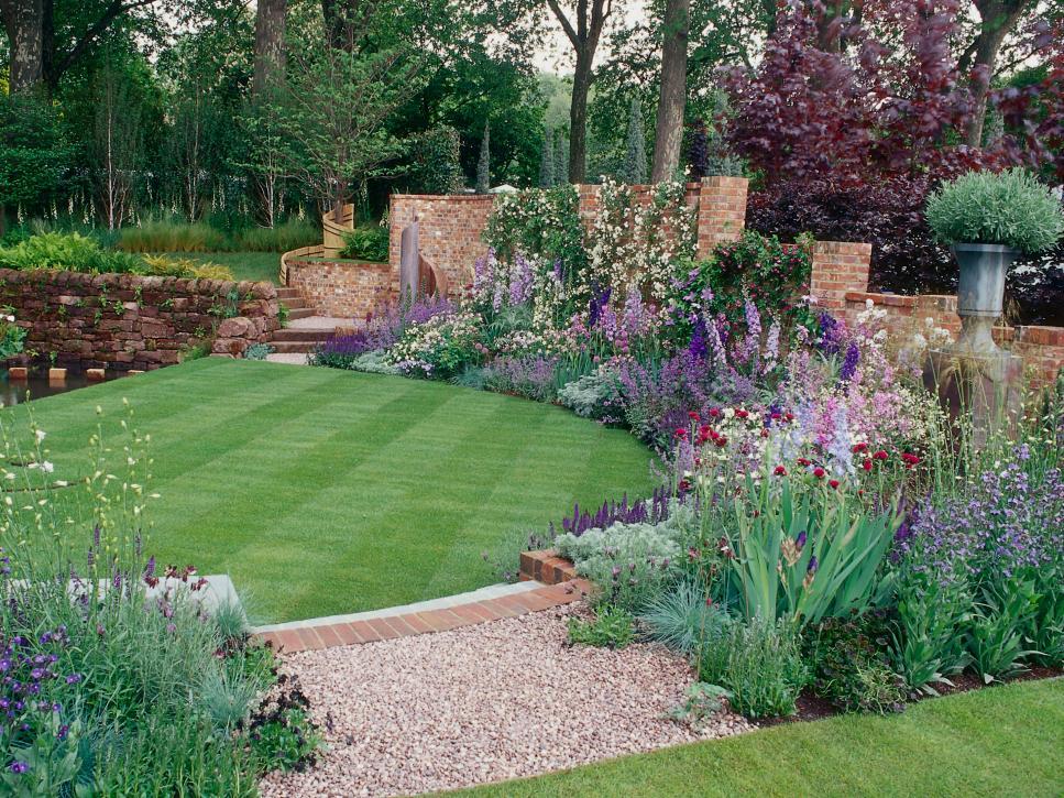 Backyard Garden Image