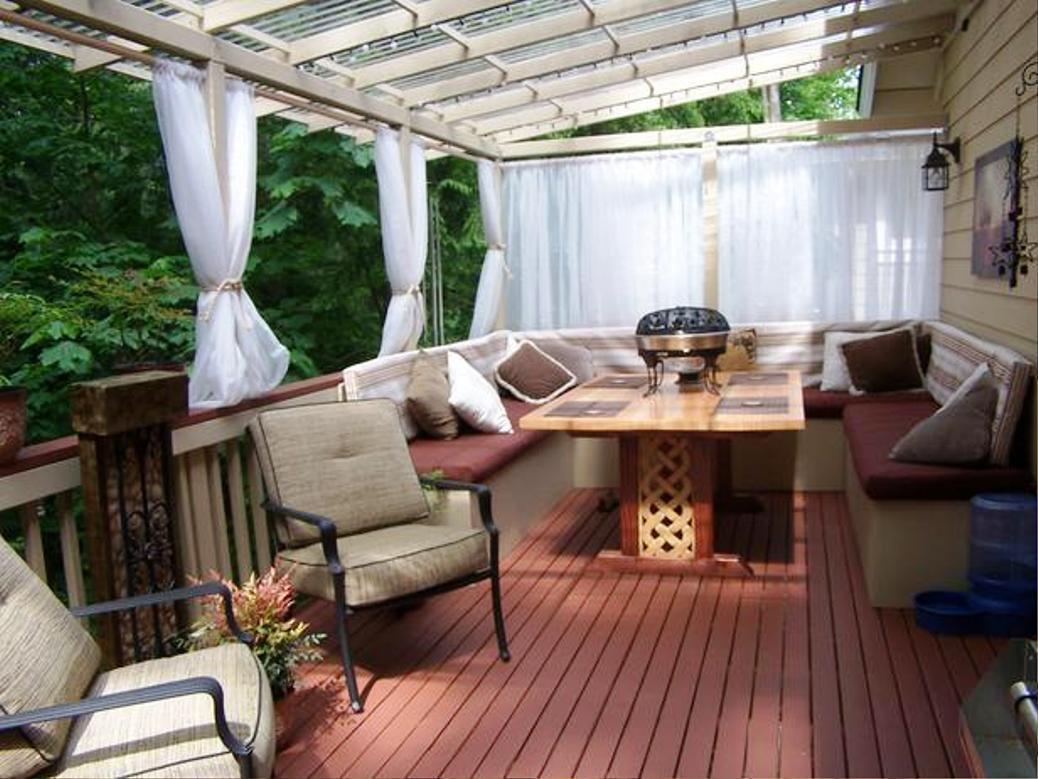 Balcony Furniture Idea