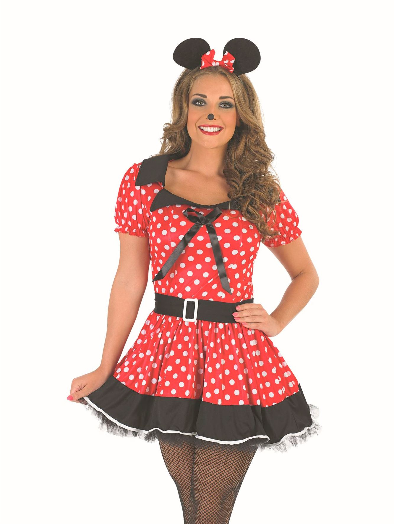 Beautiful Minnie Mouse Dress,Outfit And Costume Image