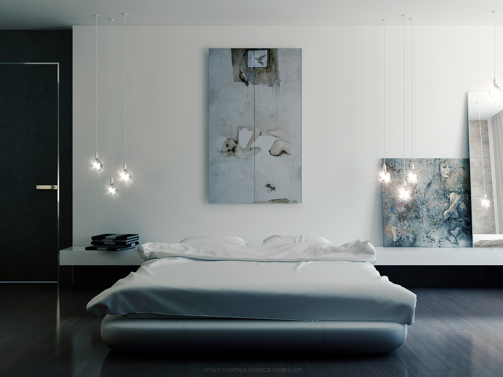 Bedroom Wall Art Idea