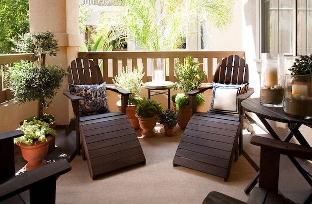 Best Balcony Furniture Idea