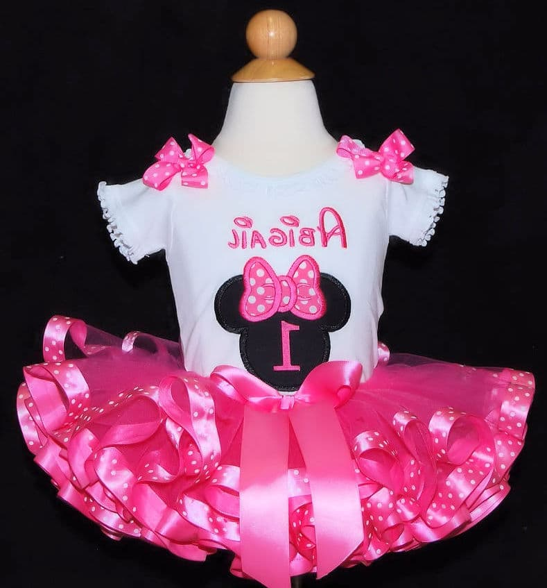 Best Minnie Mouse Birthday Dress