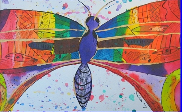 Butterfly Kids Art Project