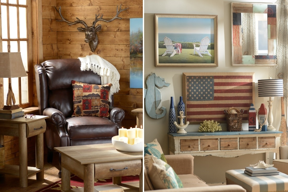 Cabin Decor Photo