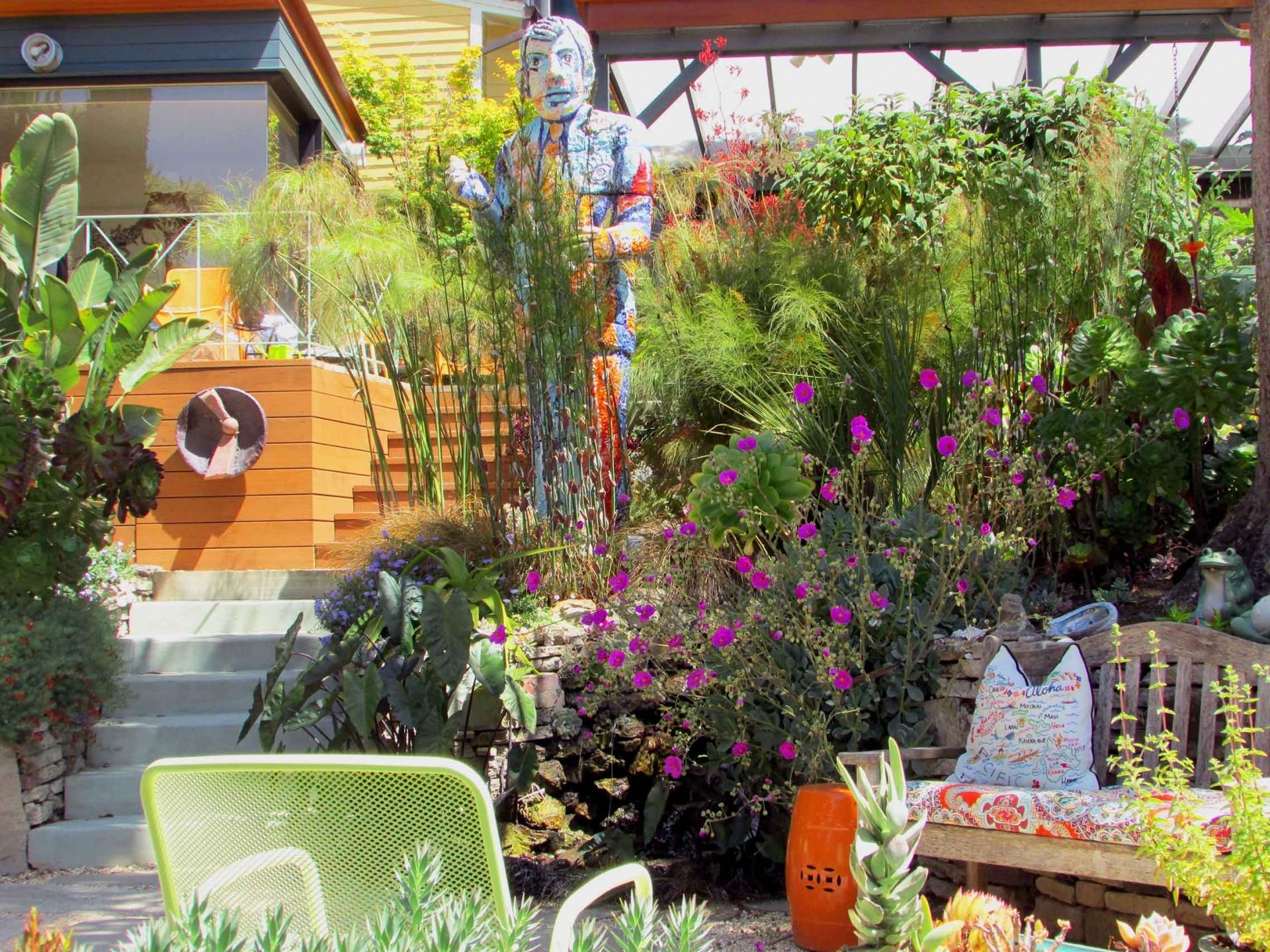 Colorful Garden Art