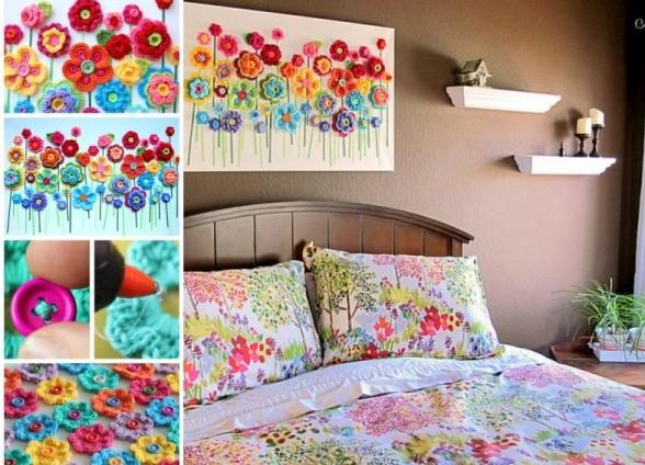 Colorful Kid Craft Idea