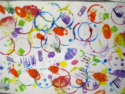 Colorful Kids Art Activity
