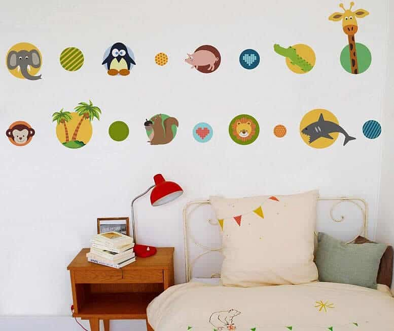 Colorful Wall Decal