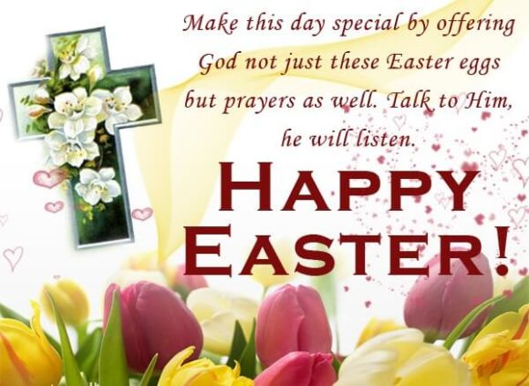 Free Happy Easter 2017 Greeting