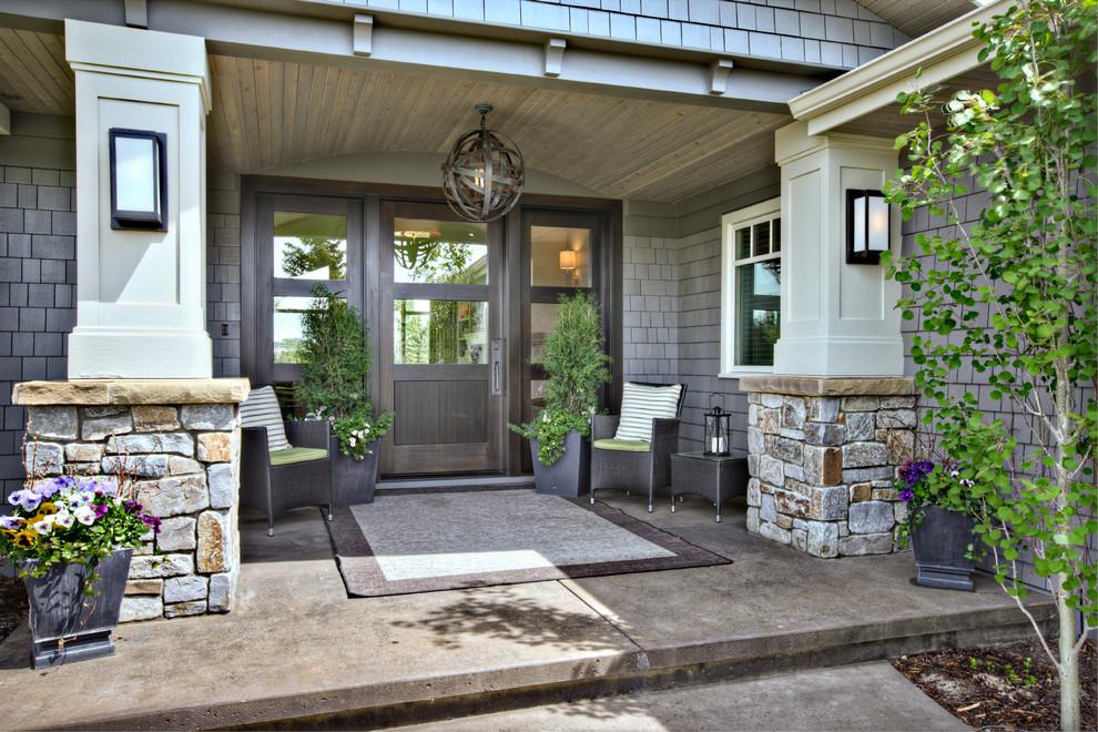 Download Front Porch Decorating Idea