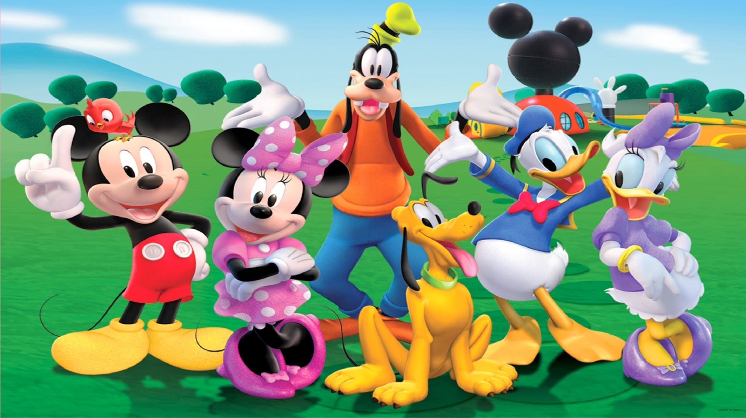 Famous Mickey Mouse Character Picture