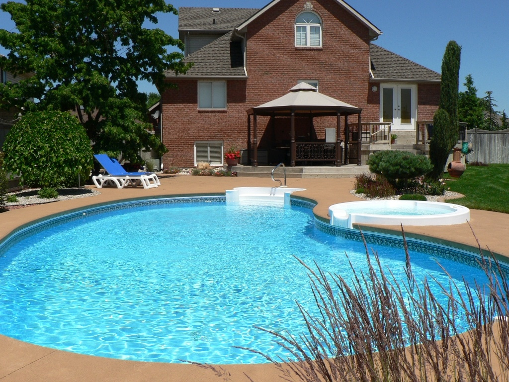 Free Backyard Pool Idea