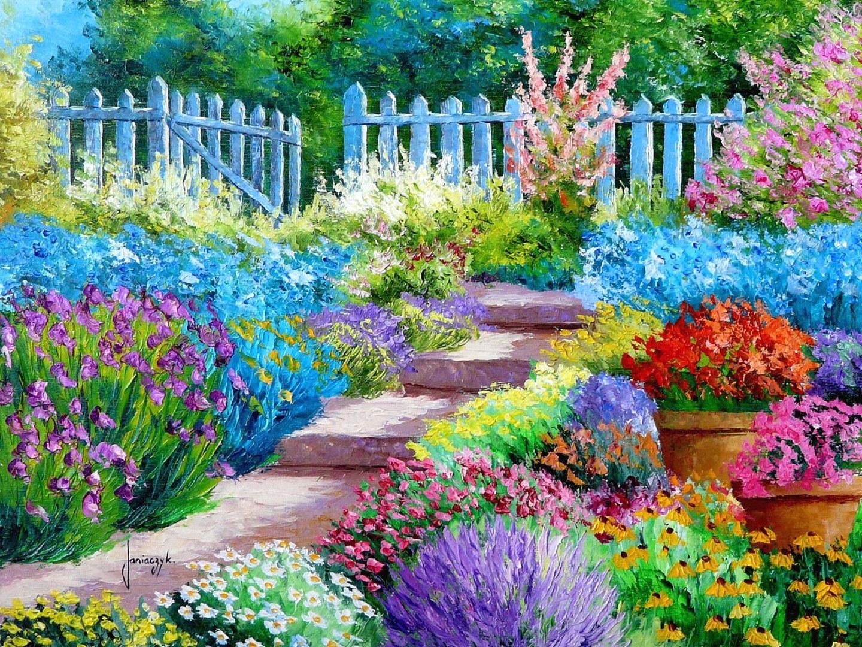 Free Flower Garden Image
