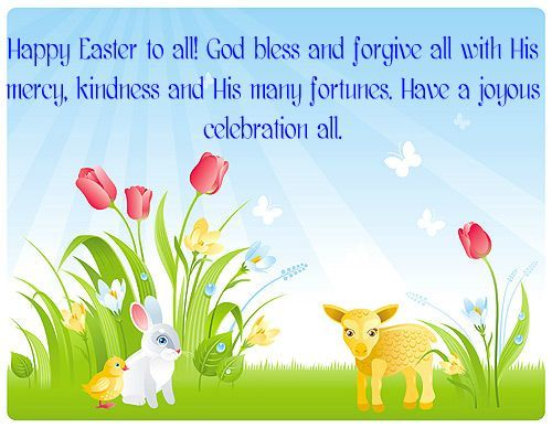 Free Happy Easter 2017 Quotes