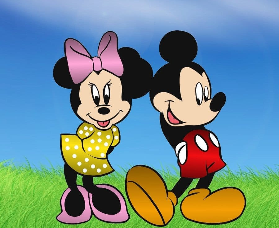 Free Mickey And Minnie Picture