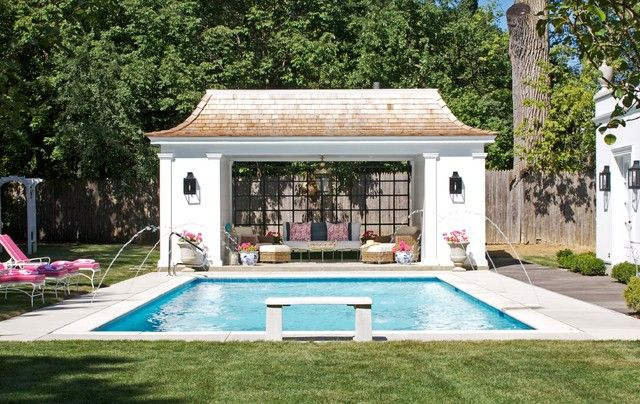 Free Pool House Design
