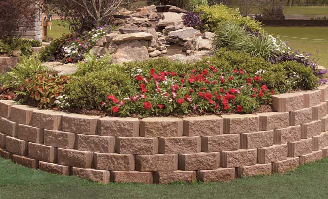 Free Retaining Wall Picture