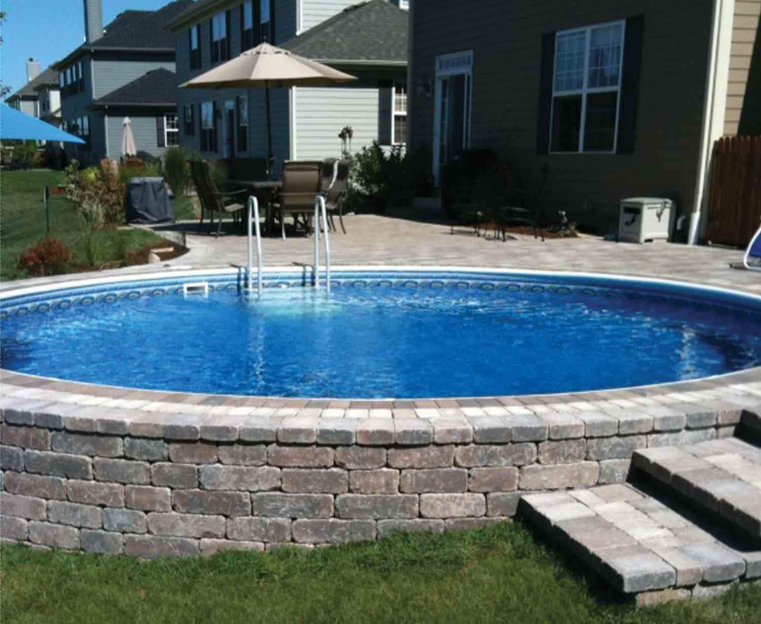 Free Small Inground Pool idea