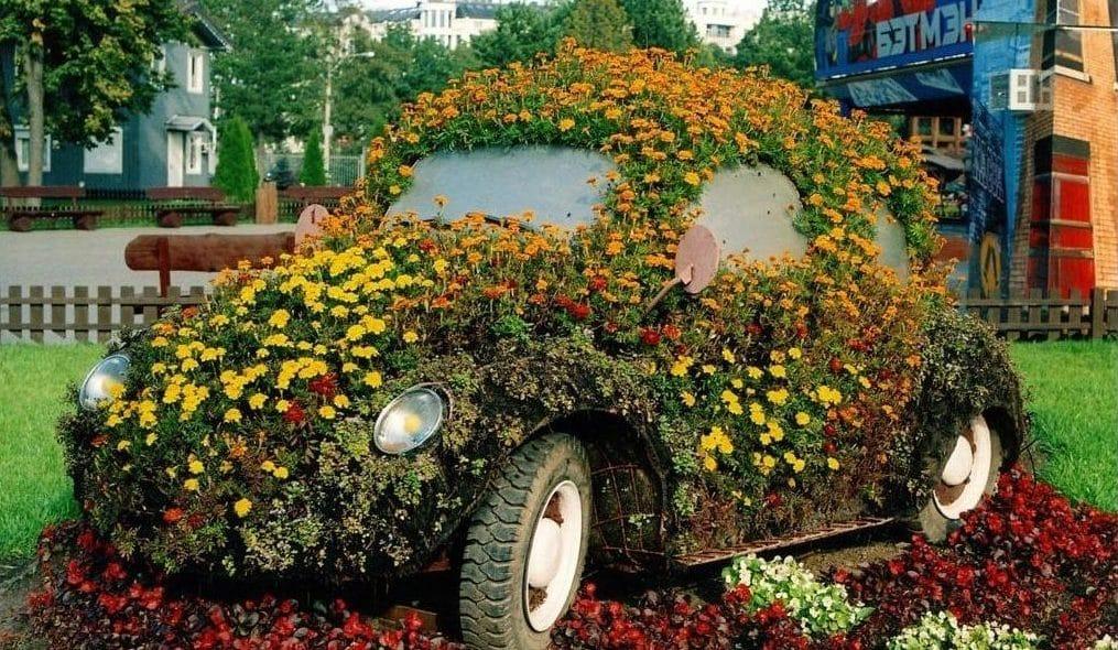 Garden Art Idea