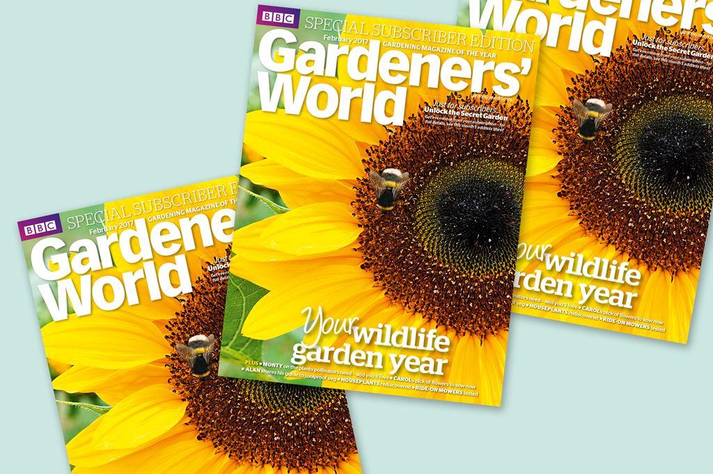 Garden Magazine Idea