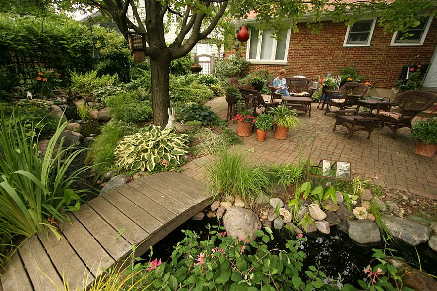 Garden Patio Idea