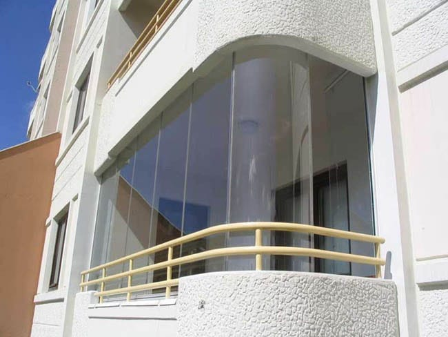 Glass Balcony Idea