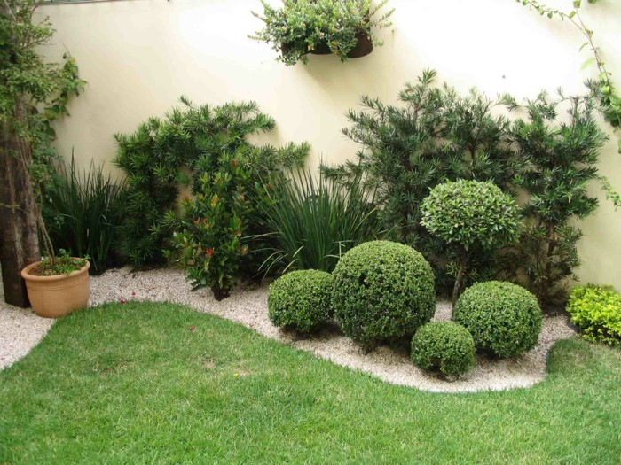 Grass Garden Decor