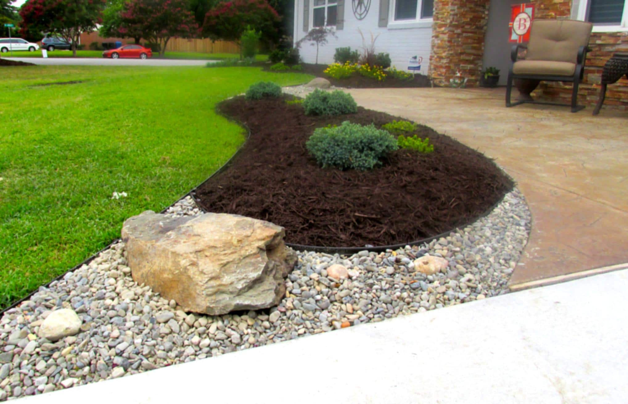 HD Image Landscaping Stone
