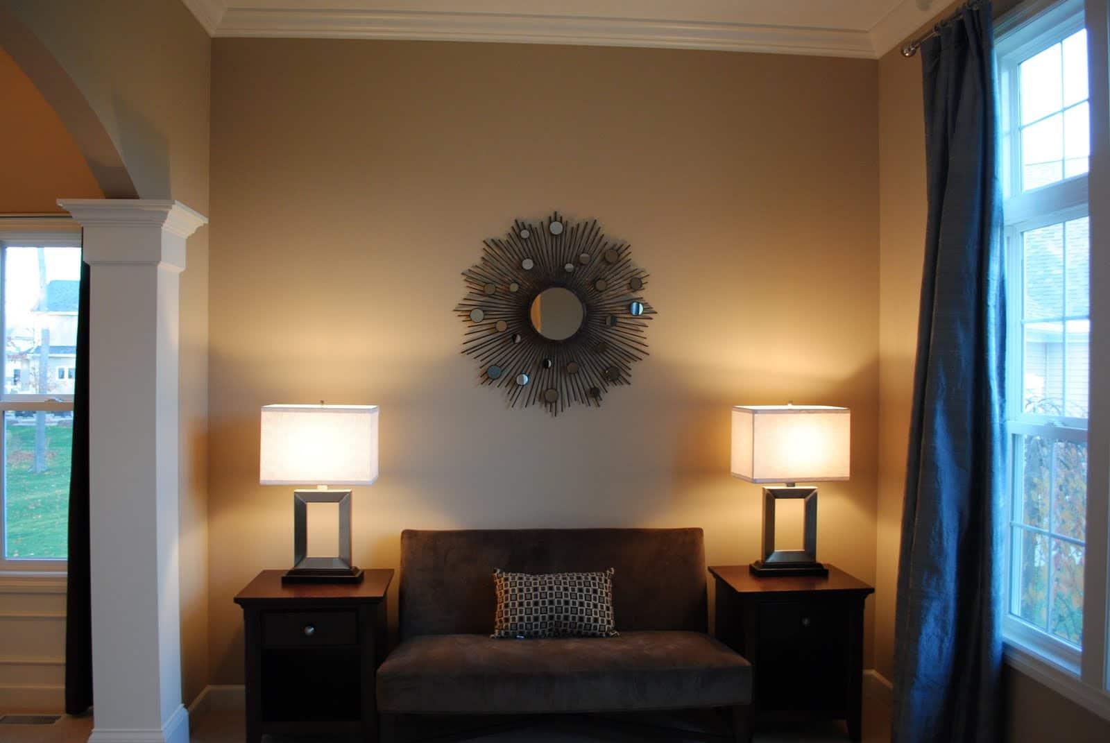HD Image Mirror Wall Decor