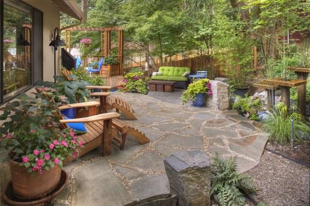 HD Image Patio Garden