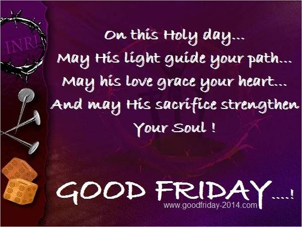 HD Images of Good Friday saying