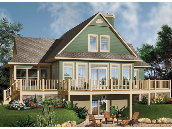 House Plan with porch Image