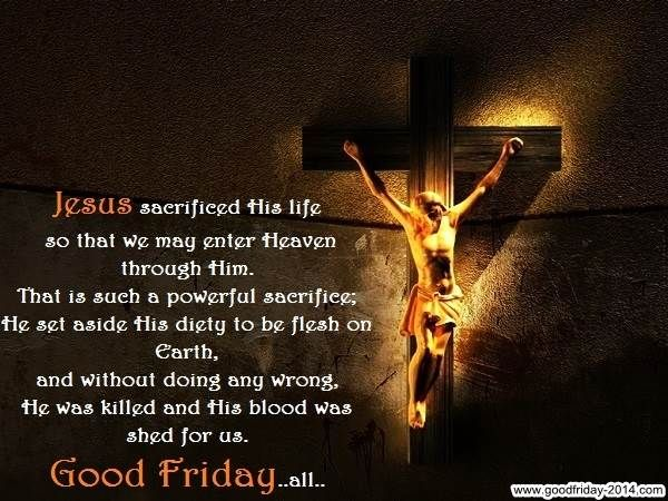 Images of Good Friday Sayings