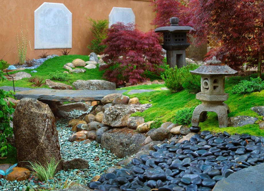 Japanese Garden Design Photo