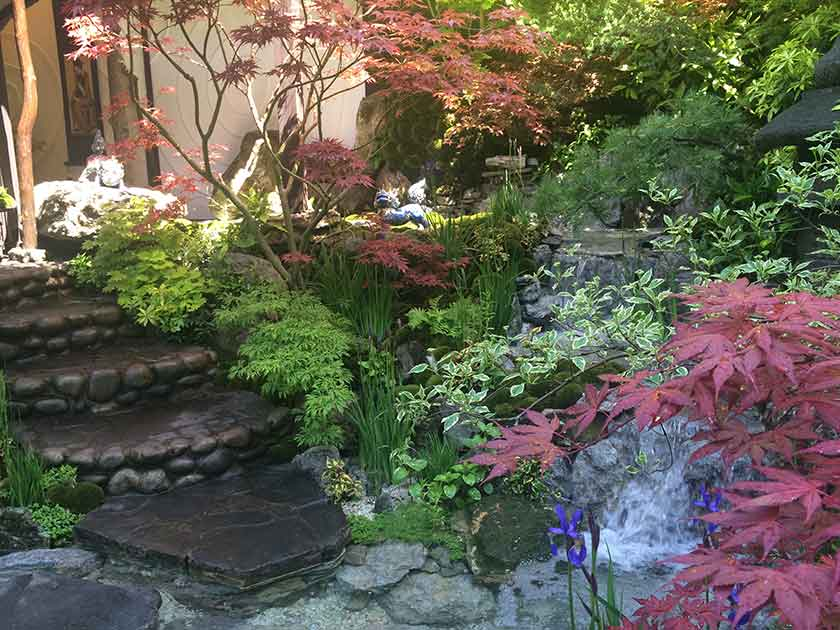 Japanese Garden Design Wallpaper