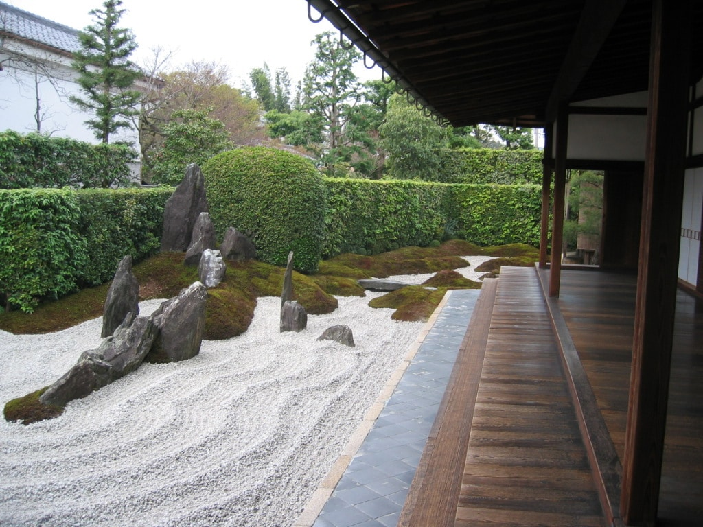 Japanese Rock Garden Photo