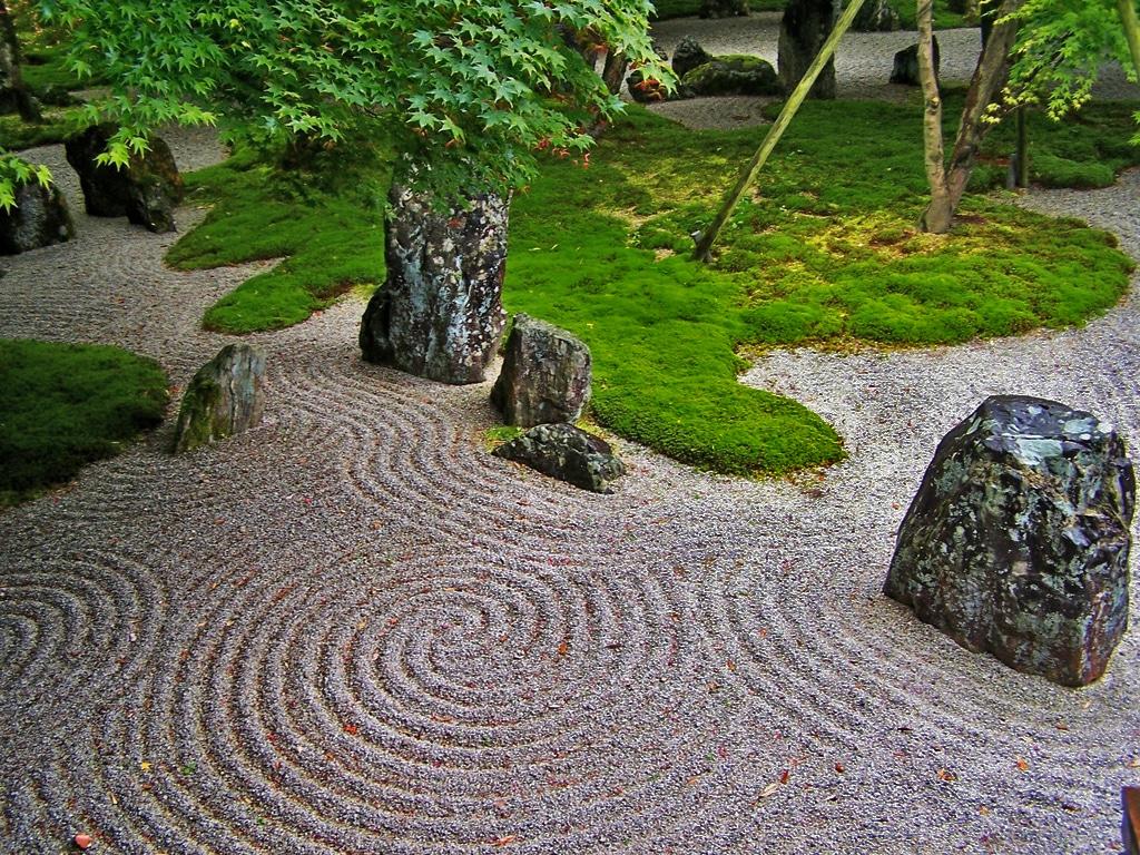 Japanese Rock Garden Wallpaper