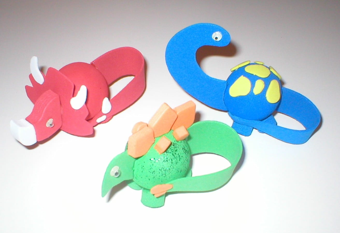 Kids Easy Craft Colorful Idea