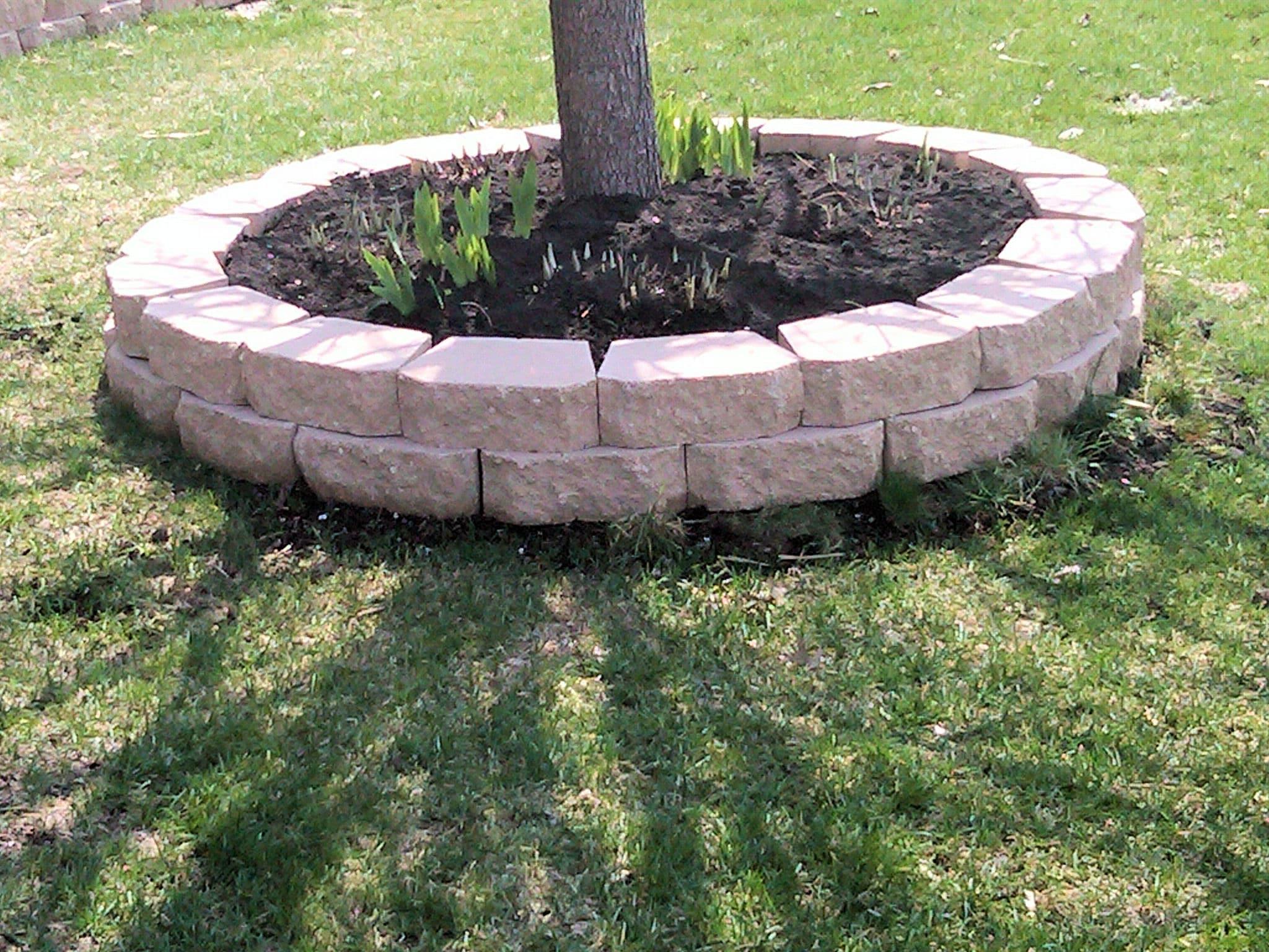 Landscaping Brick Wallpaper