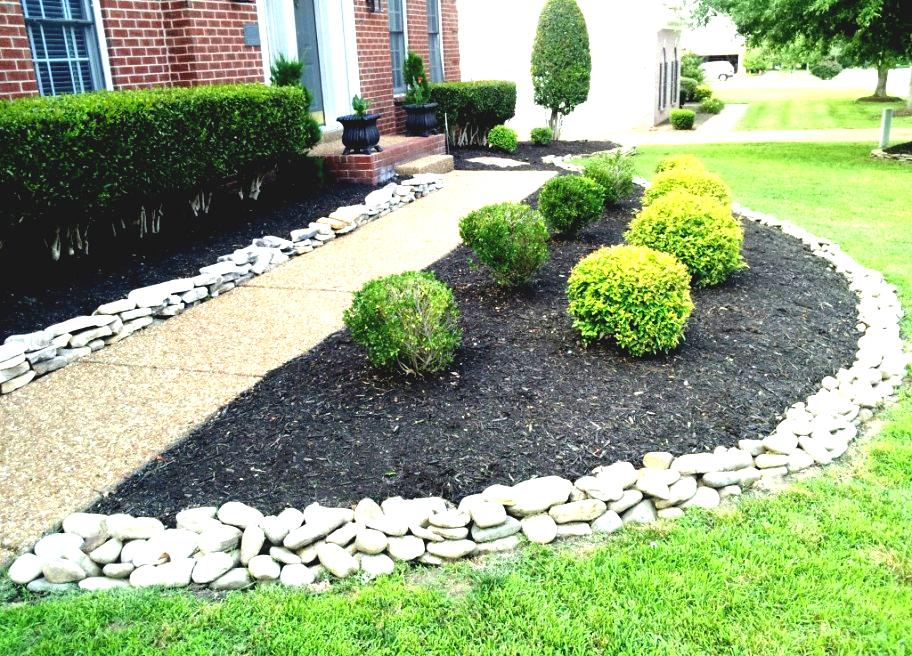 Landscaping Stone Idea