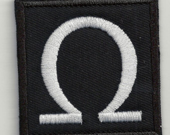 Last Letter Greek Alphabet Omega Image