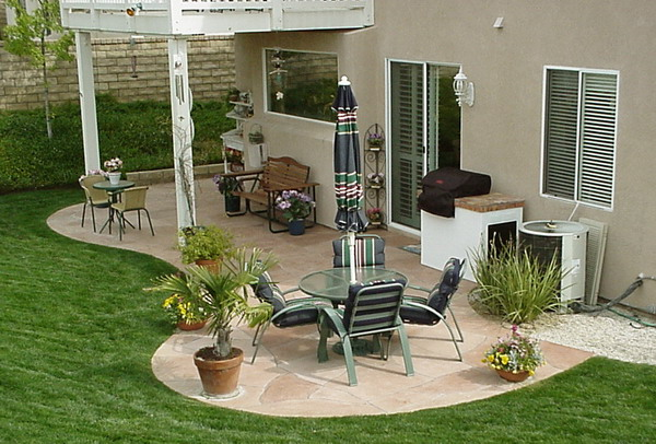 Latest Back Patio Idea
