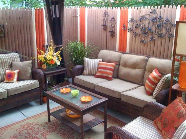Latest Balcony Furniture Idea