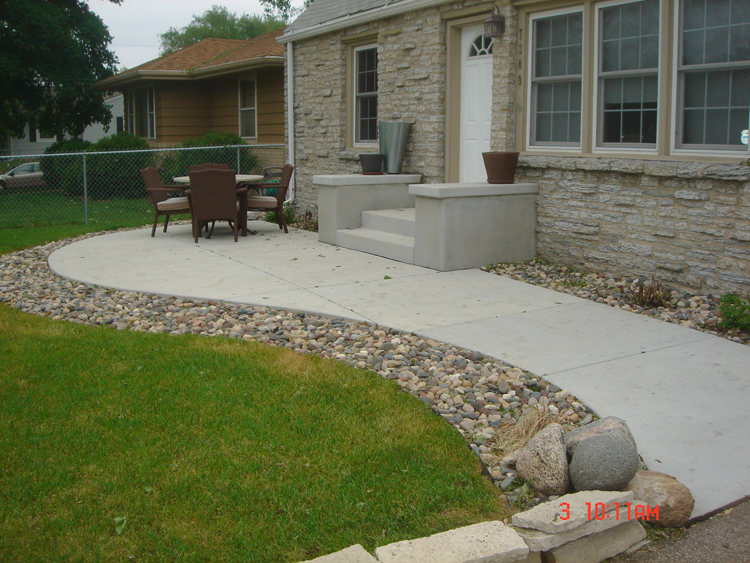 Latest Concrete Patio