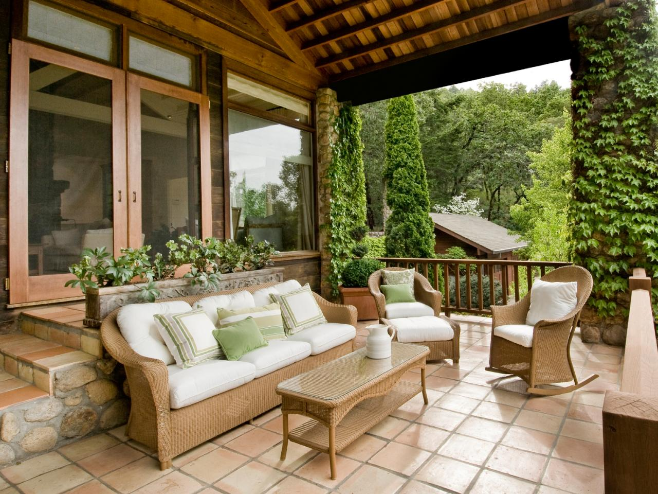 Latest Front Porch Design