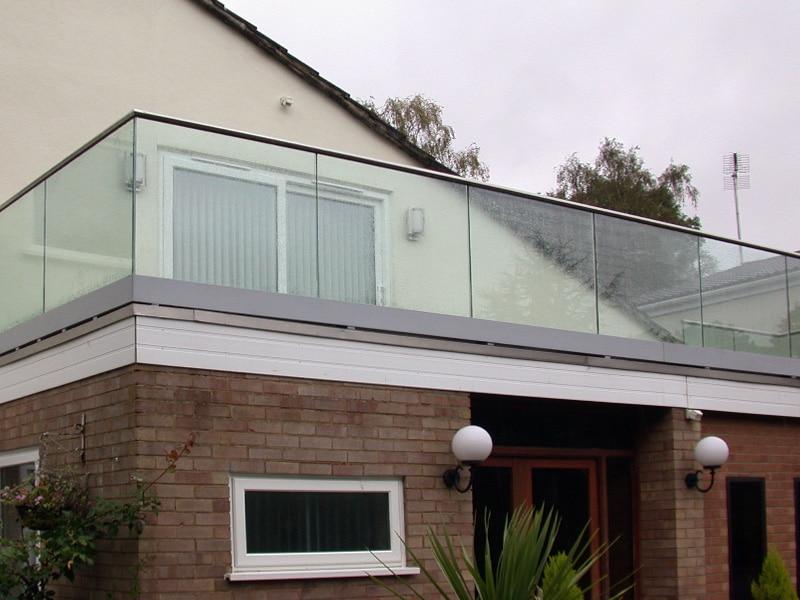 Latest Glass Balcony