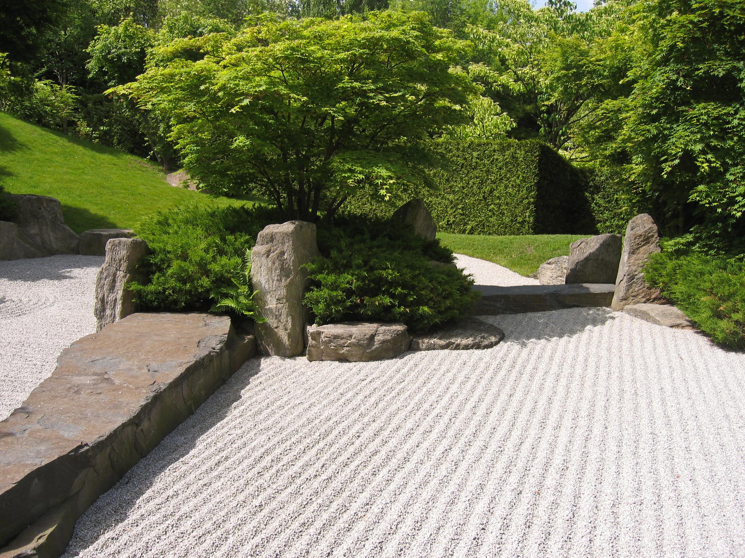 Latest Japanese Rock Garden