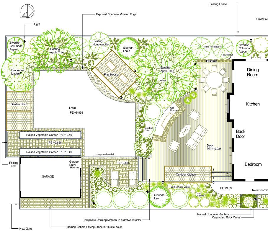 Latest Landscape Plan