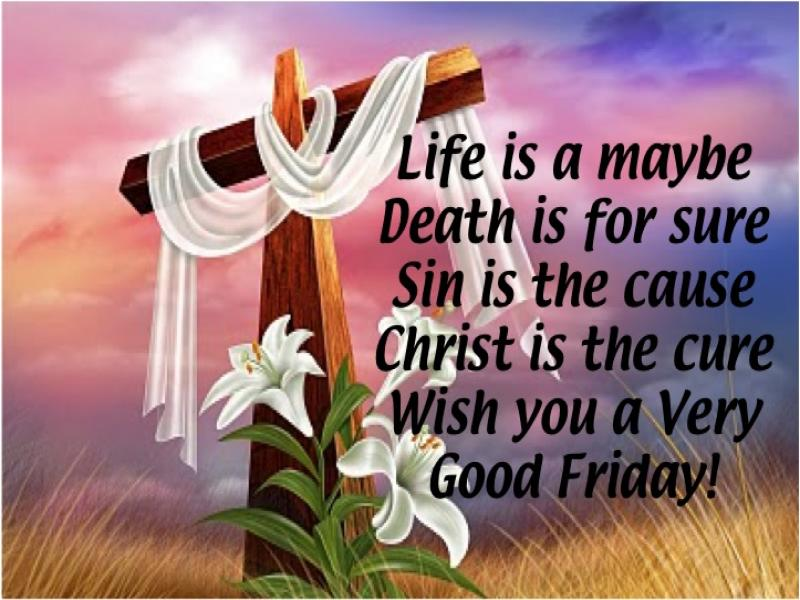 Latest Messages for Good Friday