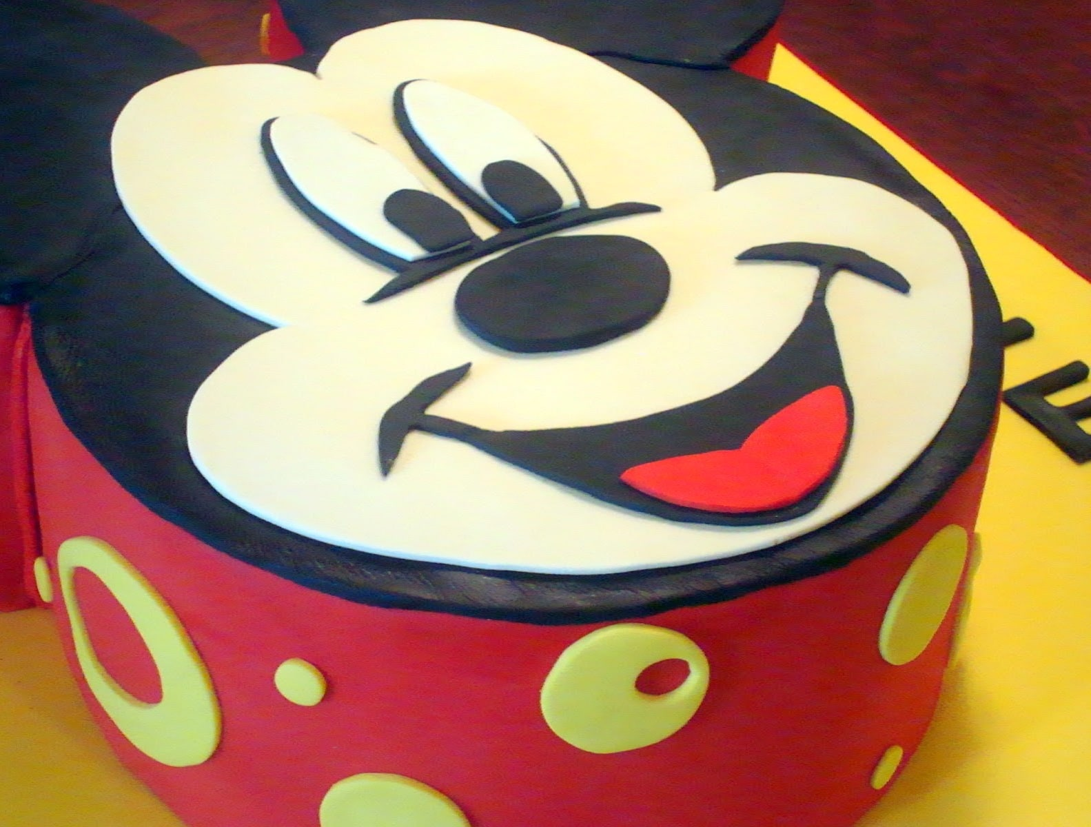 Latest Mickey Mouse Cake